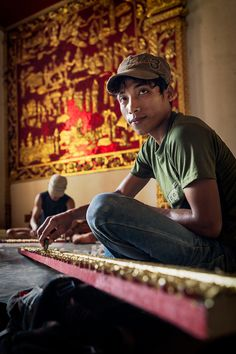 Laos 2010 by Ricardo Faria Paulino, via Behance