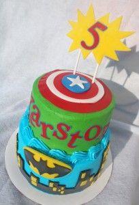AVENGERS CAKE ~Josh bday