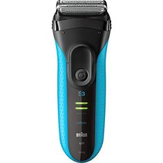 awesome Series 3 ProSkin 3010s Wet&Dry Electric Shaver for Men / Rechargeable Electric Razor, Blue
