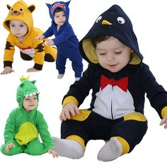 - Kids and Mom Shop Disney Baby Costumes, Funny Baby Costumes, Baby Costumes For Boys, Baby Disney, Baby Girl Romper, Baby Boy Newborn, Newborn Outfits, Girl Outfits, Animal Pajamas