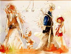 Akatsuki no Yona.. Awesome manga and very pretty watercolor!