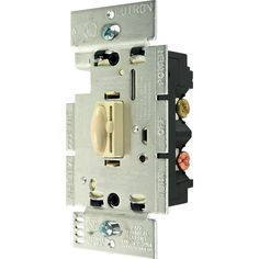 Trademark Commerce Q-600P-IV Lutron Qoto Dimmer & Switch 600W Single-Pole - Ivory