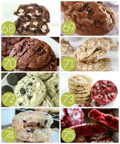 100 of the BEST Christmas Cookie Exchange Recipes Drop Cookie Recipes, Easy Christmas Cookie Recipes, Best Christmas Cookies, Christmas Goodies, Christmas Treats, Cookie Exchange Party, Christmas Cookie Exchange, Chocolate Crinkle Cookies, Drop Cookies