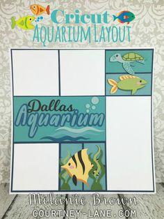 Cricut Aquarium Layout