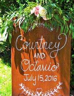 Coordination & Florals by: Breezy Day Weddings Photo by: Brett Behham Venue: Green Gables Garden Estate