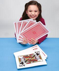 Super Jumbo Playing Card Set *hilarious