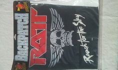 RARE Vintage Ratt Reach for the SkyWinged Skull Rock Metal jacket Back Patch New Old/Dead stock