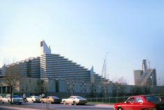 Village olympique de Montréal en construction (1976)