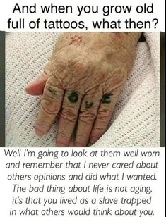 Live your life and don't waste time worrying about what people think about y tattoos sleeve - tattoo Cute Tattoos, Body Art Tattoos, Small Tattoos, Tatoos, Sayings For Tattoos, Mini Tattoos, Quotes About Tattoos, Saying Tattoos, Random Tattoos