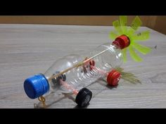 How To Make DIY Auto Rubber Band car - Awesome Kids Toys - YouTube