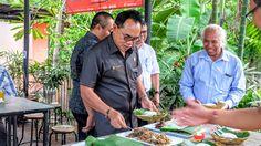 Suksma Sudah Mampir Bpk Nyoman Adi Wiryatama Ketua DPRD Provinsi Bali dan Staff Ahli DPRD Prop Bali. | Warung dan Kolam Pancing Pan Brayut