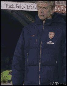 Top 8 des petits soucis d'Arsène Wenger avec sa doudoune, saloperie de veste