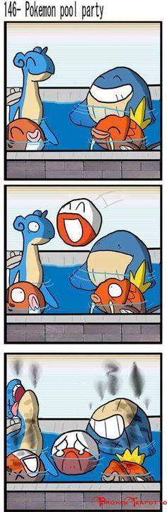 Haha awww poor guy #funny #pokemon #electode