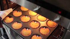 Des cupcakes en forme de cœur