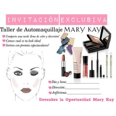 invitacion by lcabreramk on Polyvore featuring Belleza and Mary Kay