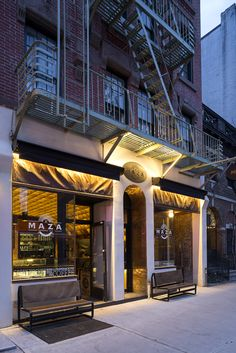 The Cool Hunter - Welcome - Maza cafe New York designed by Eleftherios Ambatzis