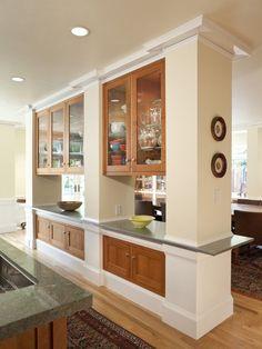Semi Open Kitchen Designs   Google Search