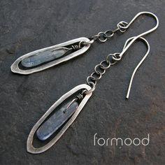 kyanit / formood / Biżuteria / Kolczyki