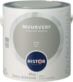 Histor Perfect Finish Muurverf Mat - 2,5 Liter - Grind
