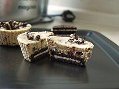 Mini Oreo Cheesecakes   Chefkoch.de