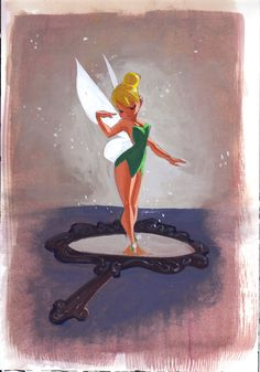 *TINK ~ Peter Pan, 1953, Peter Pan, Tinkerbell, and Fairy Inspiration for Sk8 Gr8 Designs Custom Figure Skating Dresses