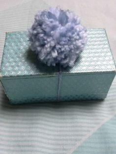 Gift Decoration Present Decoration Pom Pom by KreationsByKirstenL