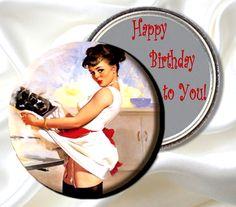Happy Birthday pin-up