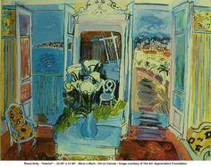 ◇ Artful Interiors ◇ paintings of beautiful rooms - Raoul Dufy 1877-1953