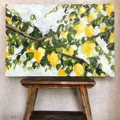maxinne hope - New Ideas Painting Inspiration, Art Inspo, Art Aquarelle, Painting & Drawing, Hope Painting, Lemon Painting, Diy Painting, Diy Art, Artsy Fartsy