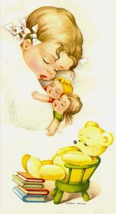 children's+illustrations+vintage | ... Illustrations Vary Artists, Illustration Sleep, Vintage Children