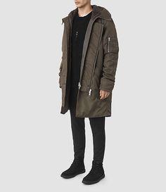 Men's Mason Parka Coat (Khaki Brown) -