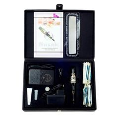BioTouch DELUXE MOSAIC MACHINE Kit Permanent Makeup 230V Round Plug Tools Needle #BioTouch