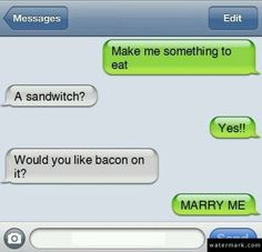 Best proposal ever! Best Proposal Ever, Scary Funny, Girlfriend Humor, Picture Blog, Funny Text Messages, Lovey Dovey, Have A Laugh, Story Of My Life, Just For Laughs