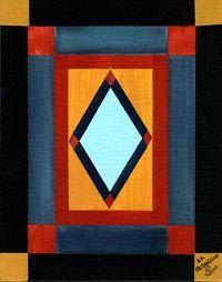 Amish Quilt Gallery | Amish Quilt - Diamonds Amish Quilt Patterns, Amish Quilts, Barn Quilts, Quilting Templates, Quilting Projects, Quilting Designs, Amish Dolls, Antique Quilts, Vintage Quilts
