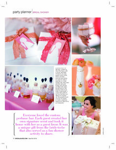 Inspired by My Coral, Peach and Blush Pink Los Angeles Bridal shower - Inspired By This