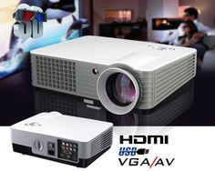 Genesis home theatre projector projects up to 140 Inches 2000 Lumens 1000:1 contrast 2 X USB/ 2x HDMI / VGA/AV/yPBpR Remote VGA cable 50,000 hours globe life 12 month warranty Great for Movies and gaming – Budget projector | Shop this product here: spree.to/atdu | Shop all of our products at http://spreesy.com/jessycat    | Pinterest selling powered by Spreesy.com