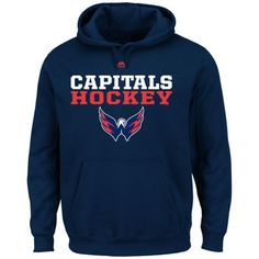 ... Old Time Hockey Red Big Logo with Crest Pullover Hoodie. See More. from  shop.nhl.com · Men's Washington Capitals Majestic Navy Feel The Pressure ...