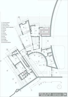 planta de acceso / access floor / Autocad, Patio Central, Photoshop, Floor Plans, Diagram, Map, Flats, Location Map, Maps