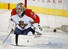 Al Montoya, Florida Panthers vs. Calgary Flames - Photos - January 09, 2015 - ESPN