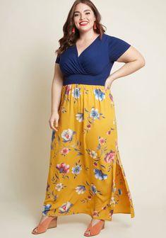 Encouraged Enjoyment Maxi Dress
