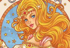 Create an Art Nouveau-Inspired Glinda Character in Adobe Illustrator - Tuts+ Design & Illustration Tutorial