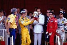 Senna Mônaco 1987