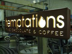 led backlit signs - Google Search More