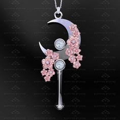 Dazzle In These 'Sailor Moon' Moon Stick Necklaces