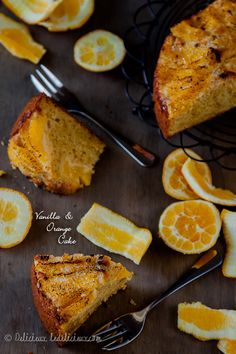 A flavourful combination of citrus and sweet, this orange & vanilla cake will tantalize your senses.