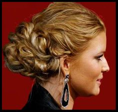 Bridal Hairstyle : Pictures of bridal prom hairstyles