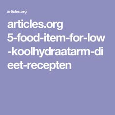 Cook koolhydraatarm dieet recepten at home which can can stimulate weight loss from the problem areas with strong immunity. Paleo dieet afvallen recipes can be a great source to reduce fat and follow a path of healthy living.
