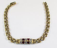 Vintage 1960s Art Deco Style Gold Toned by GildedTrifles on Etsy