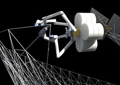 FNews: NASA is developing an orbiting factory that will use 3D printing and robots to fabricate giant structures such as antennas and solar arrays... Fantastic!!!
