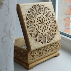 """""""Lace of the spring"""" // """"Кружева весны"""" #chipcarving #woodwork #woodcarving"""